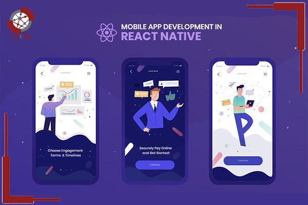 React Native در صفحات موبایل